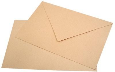 Kuverte A4 SI rjave