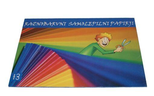 Samolepilni raznobarvni papir