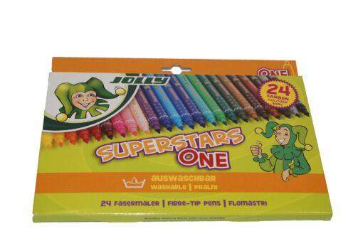 Flomastri Jolly Superstar One 24 kom